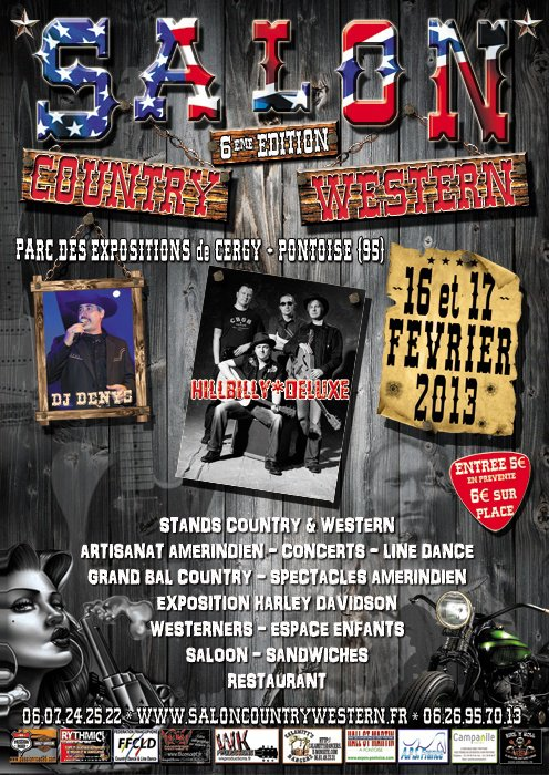 SALON COUNTRY WESTERN du 16 et 17 FEVRIER 2013 CERGY  PONTOISE