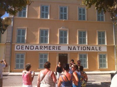 La gendarmerie de Saint-Tropez