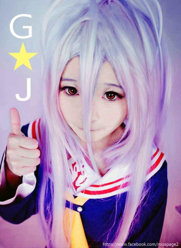 COSPLAY No game No life (1)