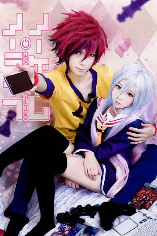 COSPLAY No game No life (2) + Miku (KAWAII)