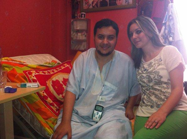 moi et l'animatrice shahinez de  dzair TV  / www.DZ-people.com