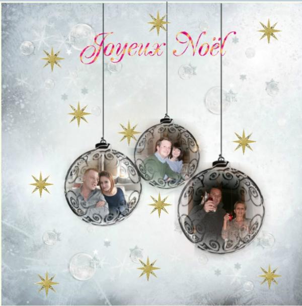 Nous vous souhaitons un Joyeux Noël........