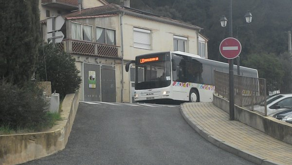 Des bus sur des lignes interurbaines !