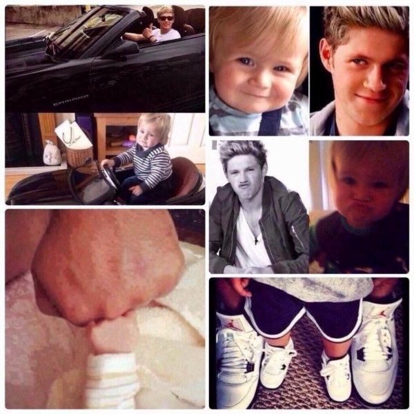 Niall and Theo ♥