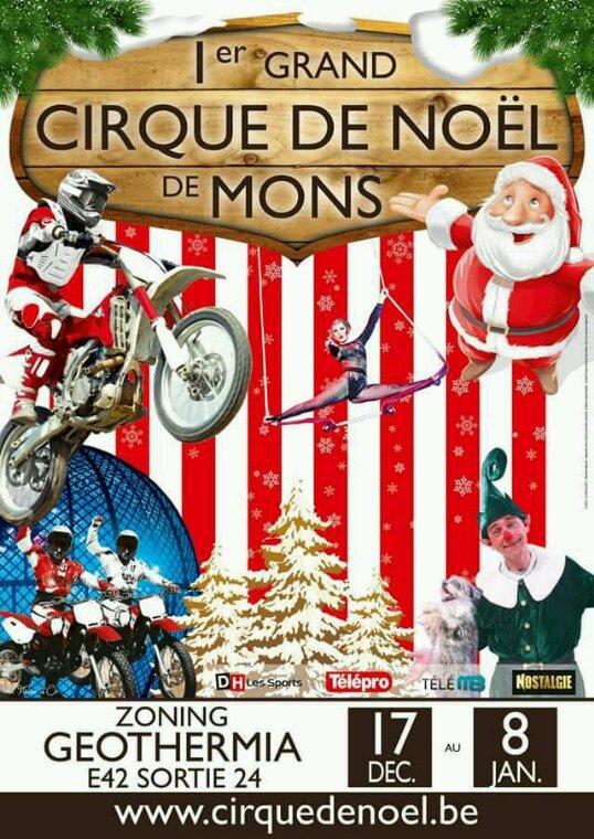 Tous nouveau cirque en Belgique par Nicolas Bouglione