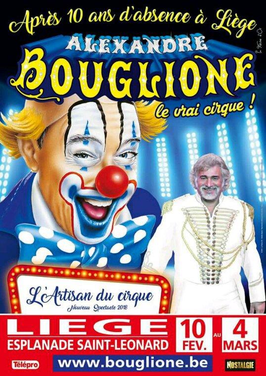 Nouveau chapiteau de cirque Alexandre Bouglione en Belgique
