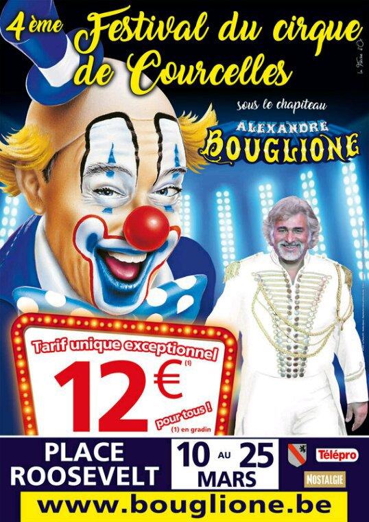 Cirque Alexandre Bouglione en Belgique