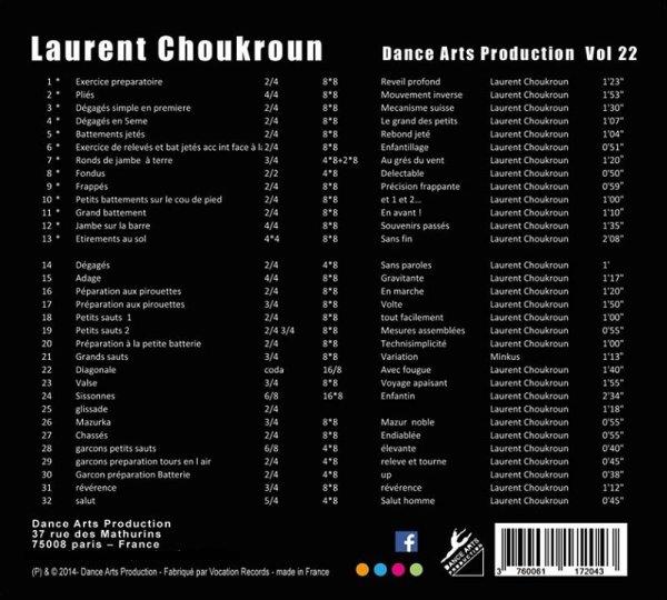 Le CD de Laurent Choukroun