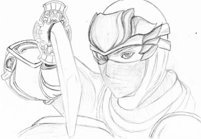 Ryu Hayabusa M Py S Drawings