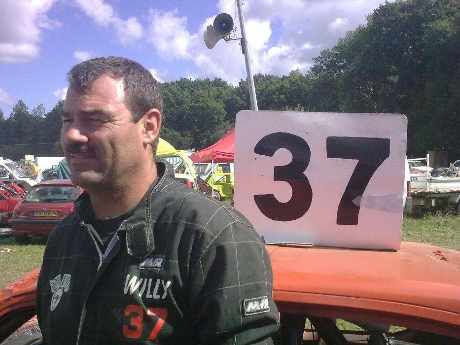 Stock-Car avec Willy n°37, Gwendal n°137 et Yorick