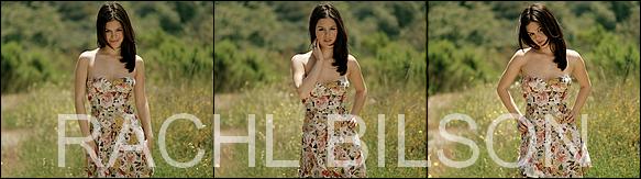 Voici l'un des plus magifique photoshoot de Rachel Bilson  ! ptit plus : le photoshoot ci - dessous datant de 2005, fait par Suzuki K