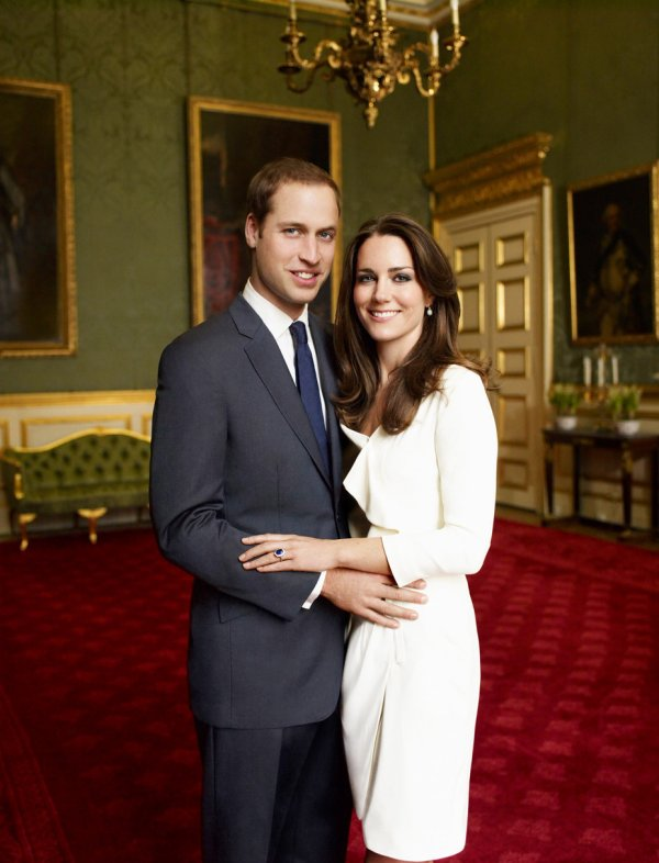 Kate, son chéri et sa soeur...