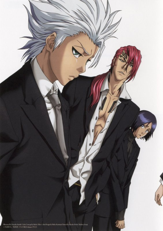 Belle image (=^w^=) :33 Toshiro a l'air grand xD