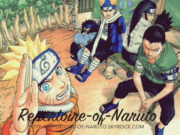Repertoire of Naruto