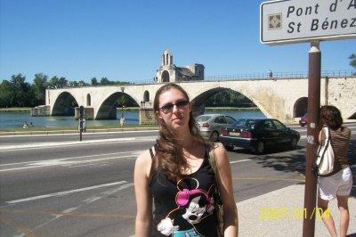 Mes vacances: une journée à Avignon
