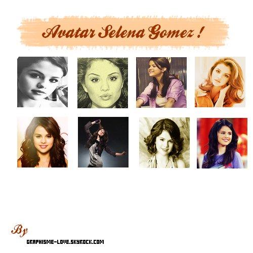 8 Avatar Selena Gomez !