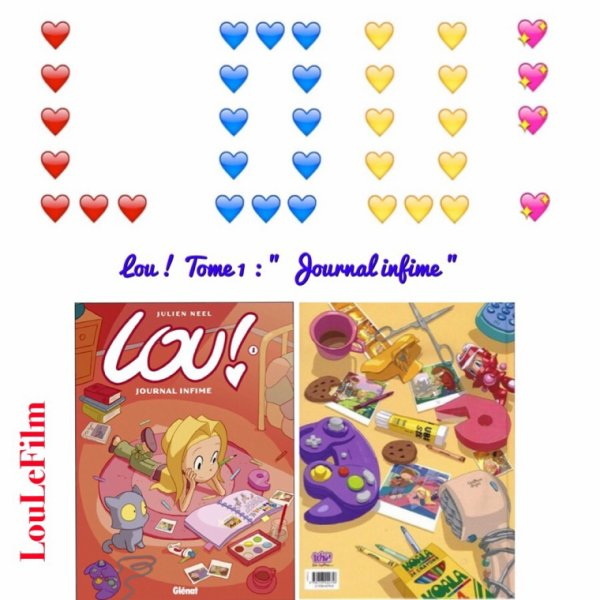 Lou ! - Tome 1 : Journal Infime