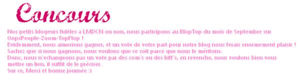 BlogTop de Septembre