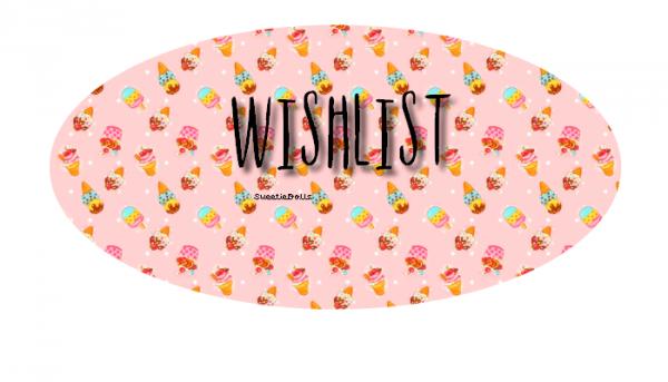 Wishlist.