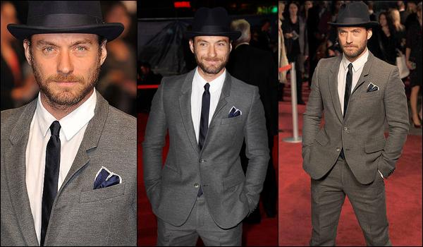 .Mercredi 12 Octobre 2011 : Jude à la première de 360 à Londres au BFI London Film Festival.