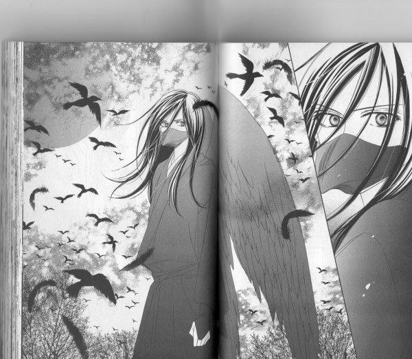 dessin de Kyo dans Black Bird