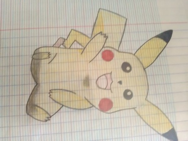 Dessins #4   Pikachuuuu ♡^▽^♡