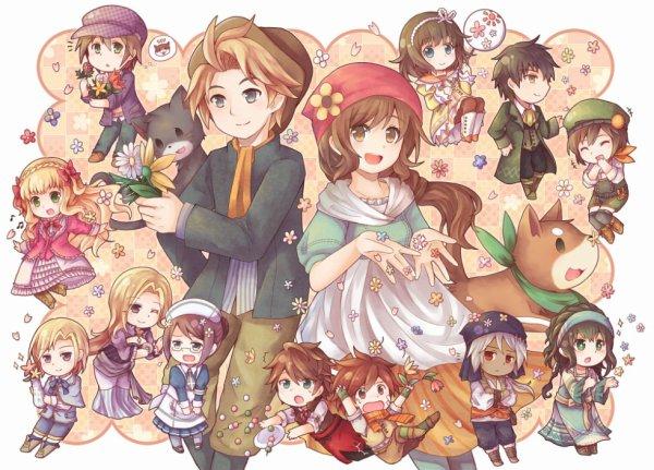 Harvest Moon <3<3