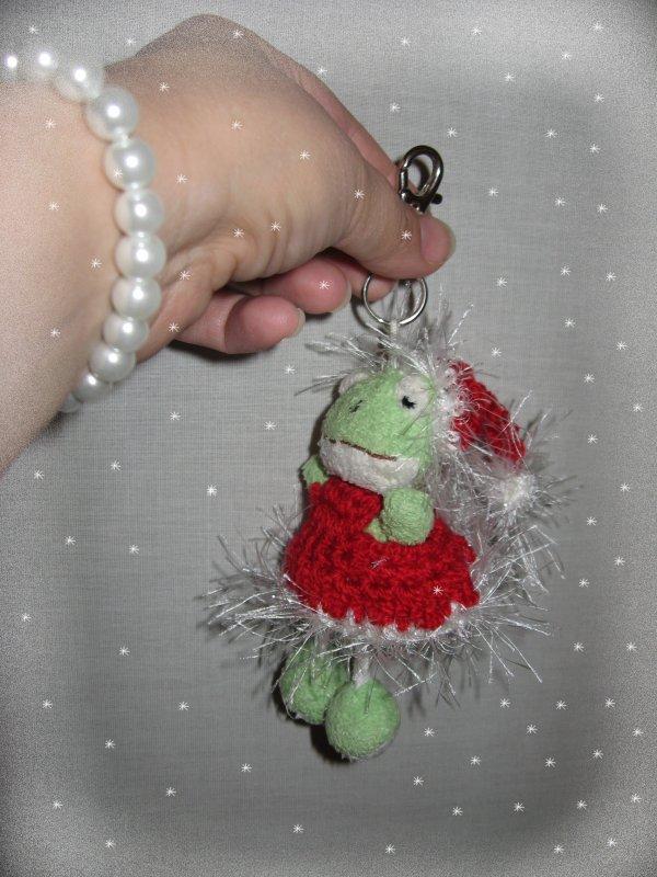 La grenouille de Noel.