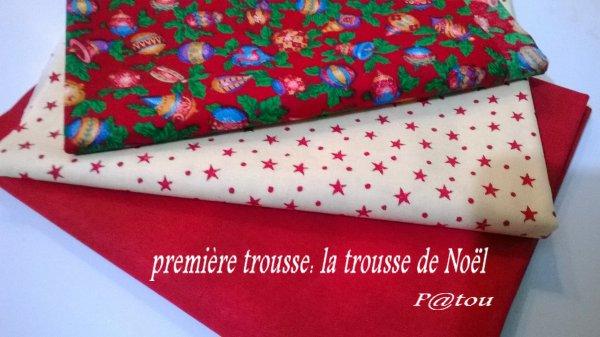La trousse de Noël.............................................................. Trousse de décembre 2013