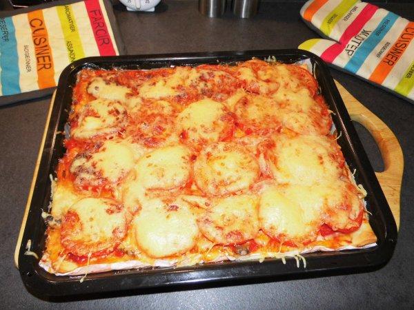 CE SOIR C'EST SOIREE PIZZA (MAISON)