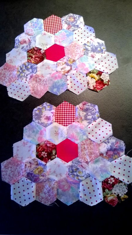 Mon tout premier patchwork.