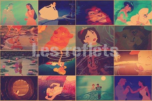 Les reflets de Disney