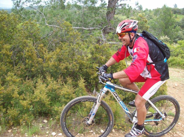 la 2éme VIRADO DES OLIVIERS   ( Fontvieille 13 ) 53 km