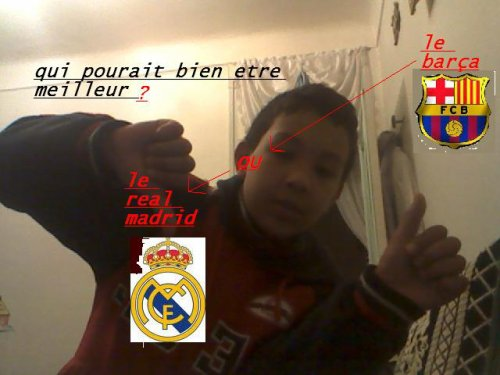 barcelone ou real madrid ?