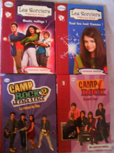 se que j'ai de camp rock miley & hannah et selena & les sorciers de waverly place et the last song