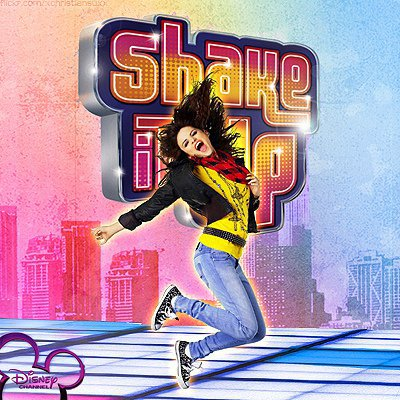 Selena Gomez dans la série shake it up <3