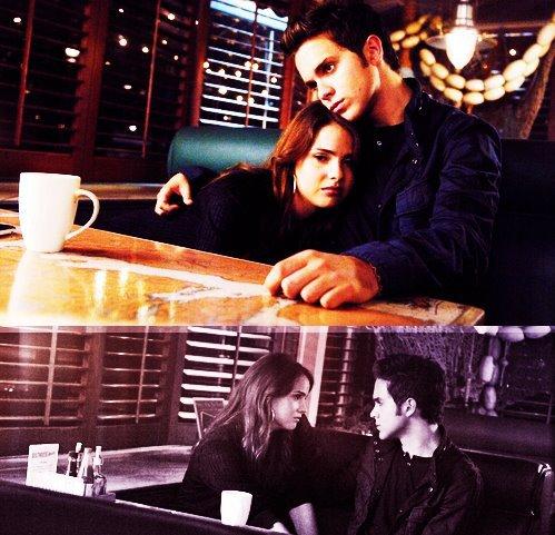 Je croyais que je ne t'aimais plus mais en fait t'es toujours dans ma tête mais tu fais juste semblant de te dissiper.  By Gloriuspeople