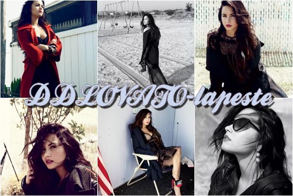 Voici les photos du photoshoot que Demi a fait pour le Numéro de Septembre du magazine ELLE. Elle est sublime! Et vous vous la trouvez comment?