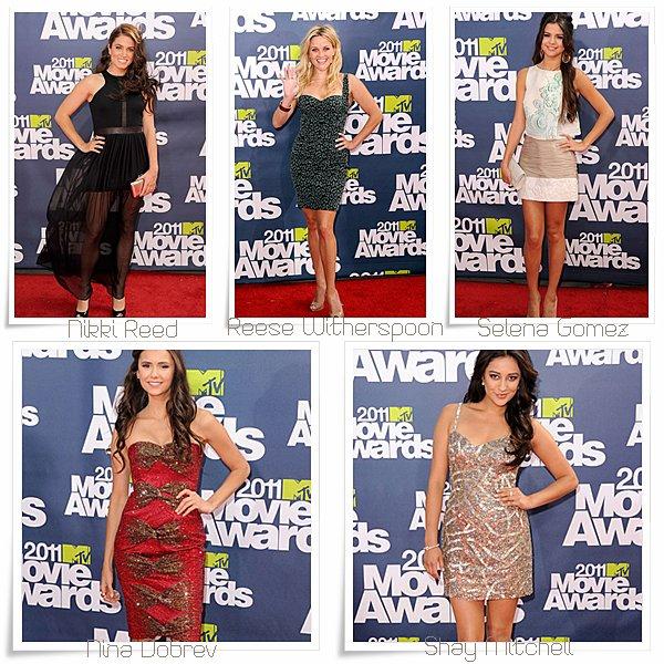 actualité ~ Evenement > MTV Movies Awards 2011