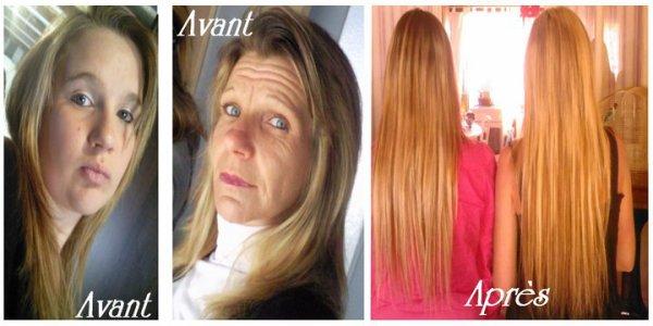 mais aussssi sur cheveuuuux longs !!! => c'est possssible