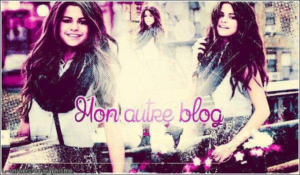 Mon autre blog ♥
