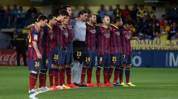 FC Barca Hommage Tito