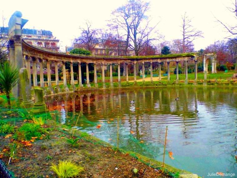 Photos, Parc Monceau.