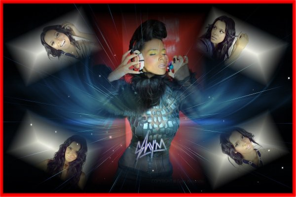 mes montages photos de shy'm