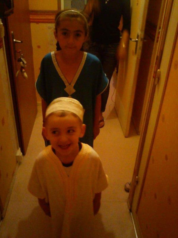 le petit frere et la petite soeur