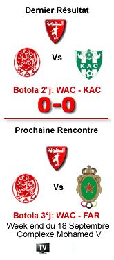 3ème Journée Botola 2010/2011 Le 17.18.19/09/2010 AU Stade Mohammed V