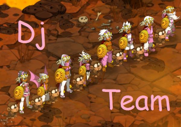 Présentation de la Team Dj's