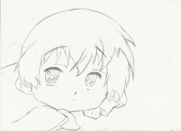 dessin d'un petit garçon
