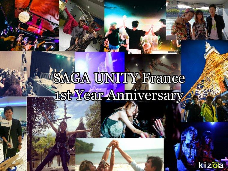SAGA UNITY France 1 Year Anniversary!