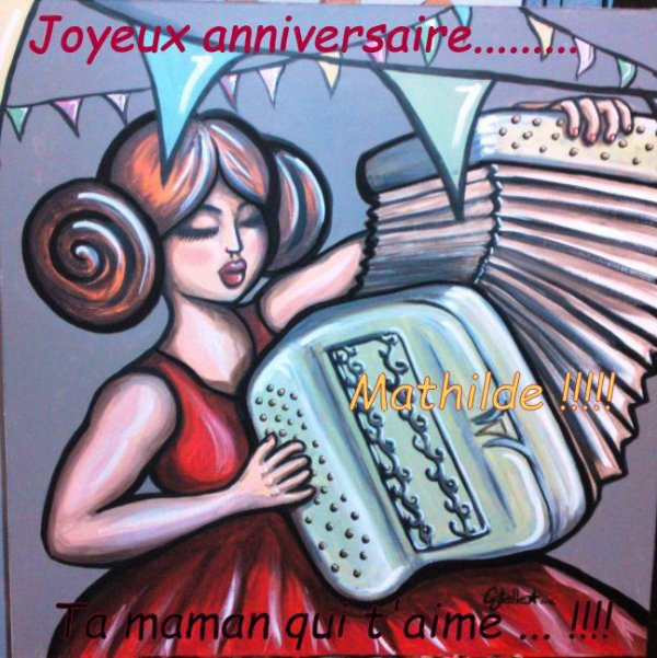 Joyeux anniversaire ma Pépette...... !!!!!
